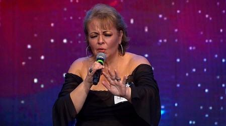 Soledad Navas emocionó con su pasión y talento para el canto