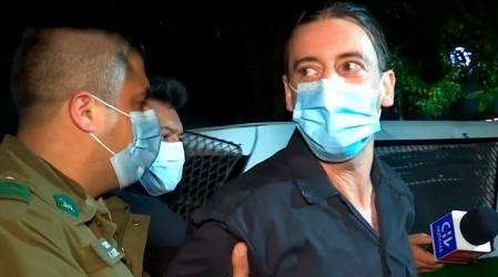 Tea Time nuevamente de fiesta: Revisa imágenes exclusivas de la detención de Camilo Castaldi