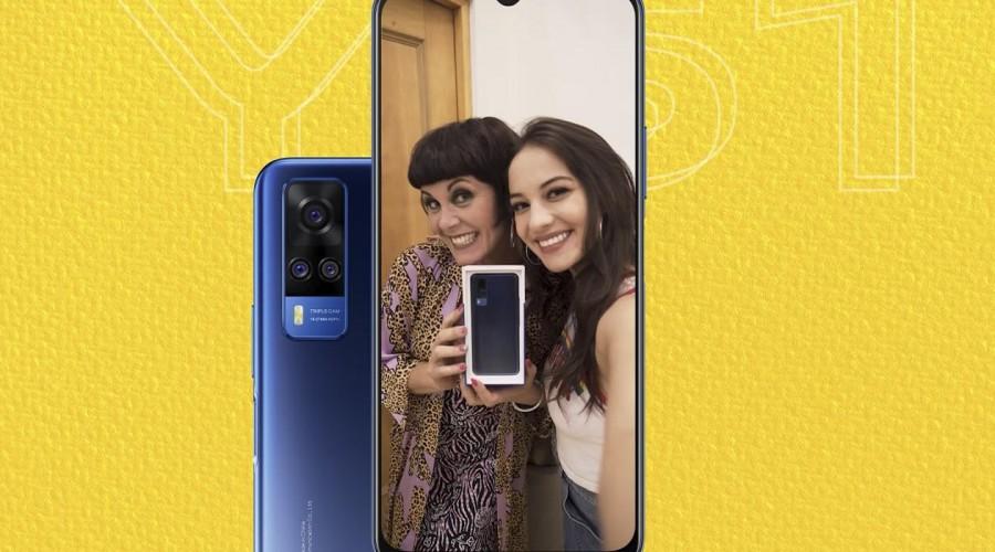 Día de la Madre: Sorprende a tu mamá con el nuevo smartphone #Y51 de vivo
