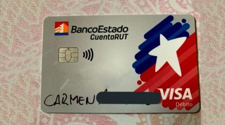 Escritas con plumón: Insólita denuncia en entrega de tarjetas CuentaRUT