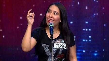 Anaís Ramírez llenó de dulzura el escenario de Got Talent Chile