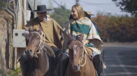 Mariana Derderián se sumergió en la ruta tradicional del Maipo