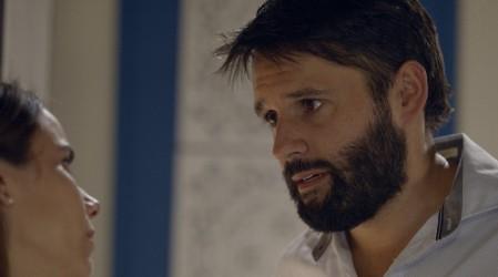 Germán se puso violento con Javiera / Presentado por Caja Los Andes