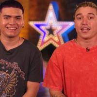 Los hermanos Julio y Ricky hicieron bailar al jurado al ritmo del reggeaton