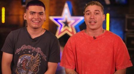 Los hermanos Julio y Ricky hicieron bailar al jurado al ritmo del reggaeton