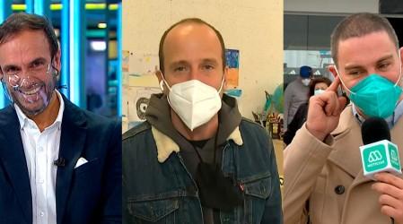 ¿Vemos doble?: Stefan Kramer se lució en local de votación imitando a Rodrigo Sepúlveda y José Antonio Neme