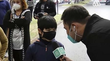 """""""¿De qué equipo eres?"""": La divertida e inocente respuesta de un niño que acompañó a su madre a votar"""