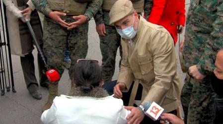 Votante fue detenida en el Estadio Monumental por presuntamente fotografiar su papeleta