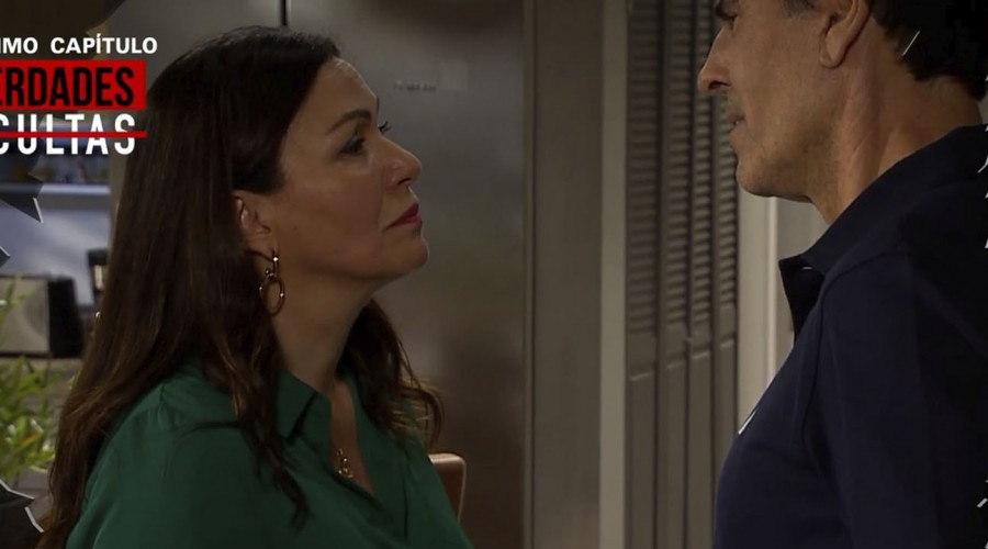 """""""¡Que no le dé el beso!"""": Seguidores de Verdades Ocultas no quieren que Rocío bese a Tomás"""