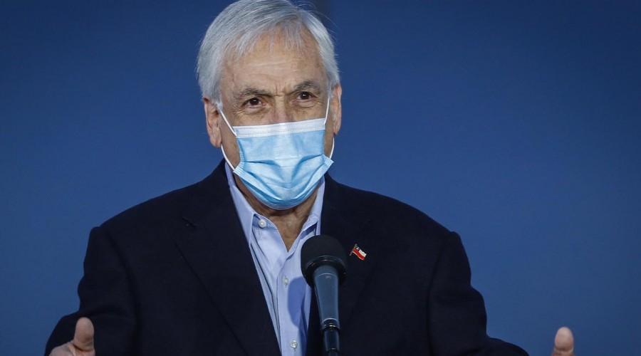 """Presidente Piñera anunció """"Pase de Movilidad"""" para personas vacunadas"""