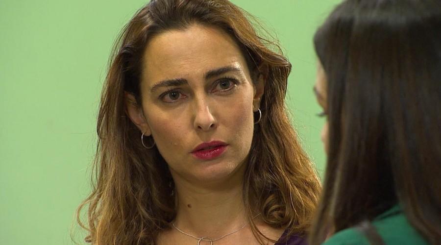 Julieta quedó afectada por su encuentro con Rocío