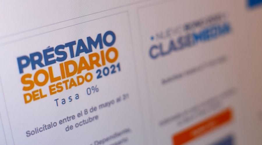 Solicítalo ahora: Con el préstamo Solidario podrás recibir hasta $650 mil mensuales