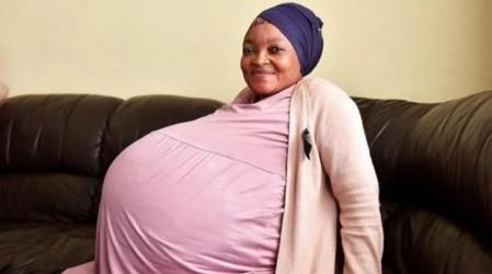 Impacto mundial: Mujer rompe el récord Guinness luego de dar a luz a 10 bebés en Sudáfrica