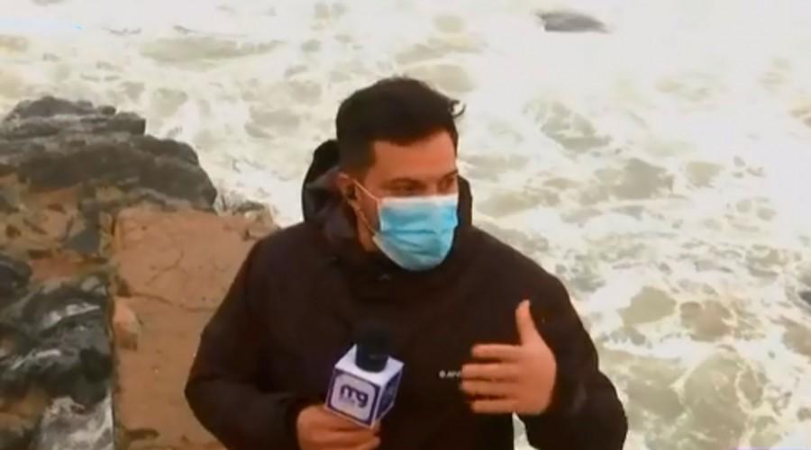Alerta meteorológica: Costas de la país sufren fuertes marejadas que forman olas de hasta 10 metros