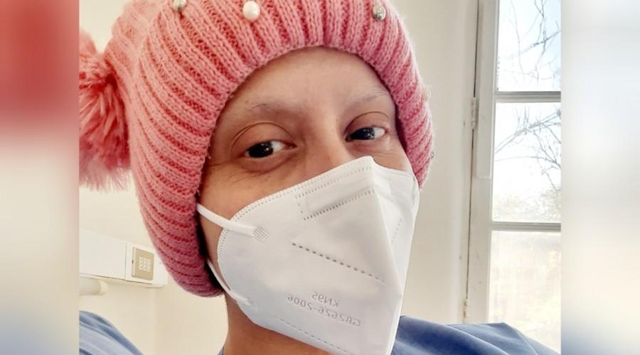 """""""Hoy agradezco a Dios"""": Mila Correa reaparece tras contagiarse de Covid-19 mientras lucha contra el cáncer"""