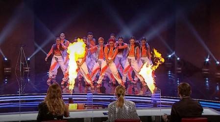 Sextos finalistas Got Talent Chile: Stomp Crew sorprendió con una increíble y coordinada coreografía
