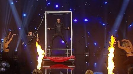 """""""Sigo creyendo en la magia"""": Gerardo Hoffman se ganó los aplausos del público con sus increíbles trucos"""