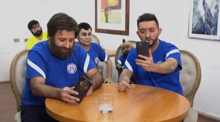 Los jugadores de La Roja se tomaron el capítulo de Mi Barrio