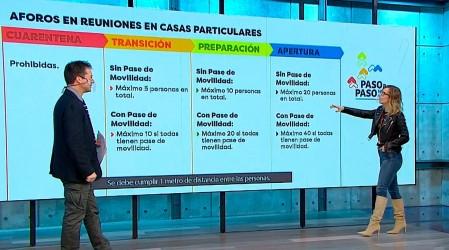 Plan Paso a Paso cambia el 15 de julio: Ministro Lucas Palacios explica cómo funcionarán los aforos