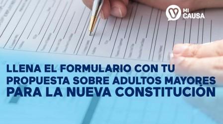 Ingresa AQUÍ tu propuesta sobre personas mayores que deba estar en la nueva Constitución