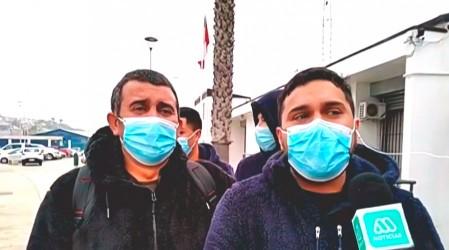 """Fuimos a cazar gaviotas"": Pescadores sobrevivientes de naufragio en Coquimbo entregan estremecedor testimonio"