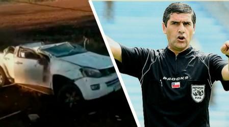 Alcalde Carlos Chandía sufre grave accidente vehicular que lo mantiene internado en el Hospital de Chillán