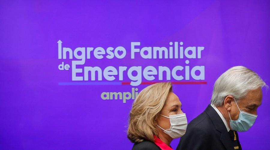 Parlamentarios de Chile Vamos solicitan a Piñera que el IFE se entre hasta el mes de diciembre
