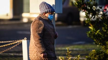 Se espera ola de frío en la zona central: Termómetros bajarán hasta los -2°C