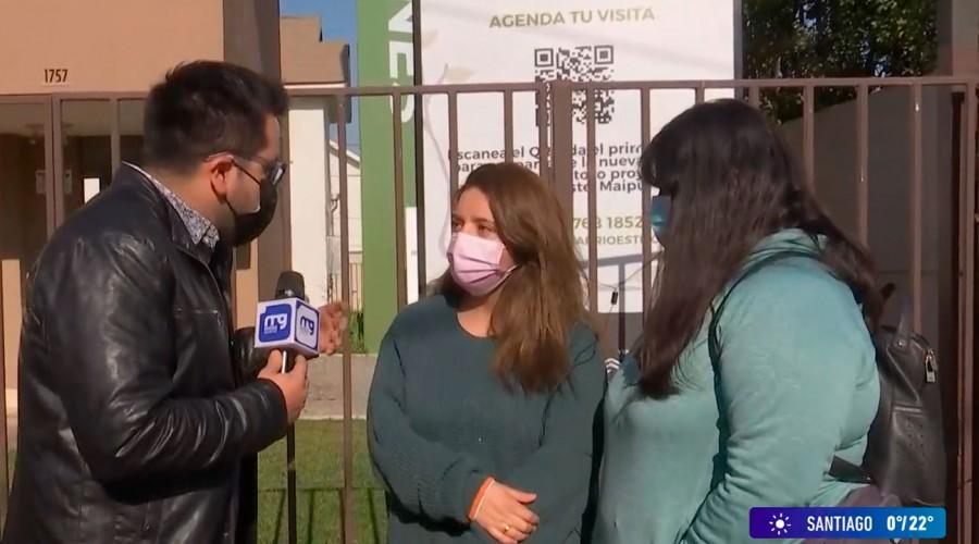 Querían tener su casa propia: Familias de Maipú denuncian ser estafadas por falsa funcionaria del Serviu