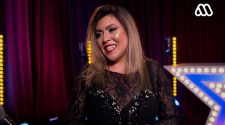 """""""Creo que lo logré"""": Claudia Castro quedó conforme con su presentación arriba del escenario de Got Talent"""
