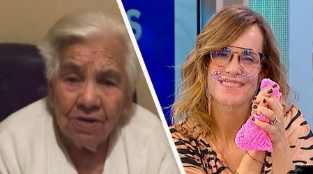 ¡Emocionó a todo nuestro equipo!: Marta de 94 años regaló 50 pañitos hechos por ella para las mujeres de MG