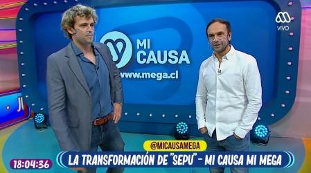 Mi Causa Mi Mega y Rodrigo Sepúlveda se toman La Hora de Jugar para presentar un potente mensaje