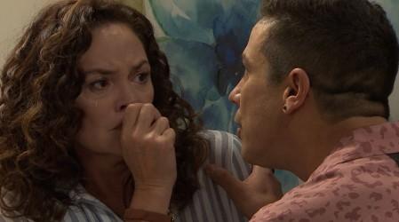 Agustina se enfrenta a su propio hijo - Capítulo 919