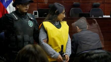"""Johanna Hernández , condenada por el crimen del profesor Nibaldo: """""""