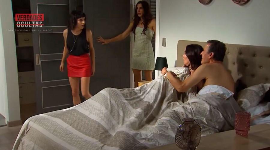 Martina expulsa a Tomás de su casa