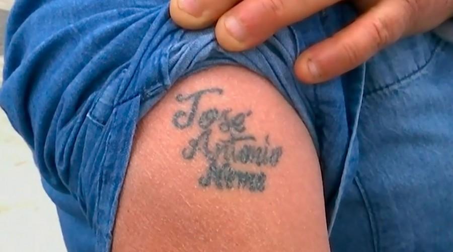¡Se tatuó su nombre!: José Antonio Neme queda atónito con fanatismo de televidente