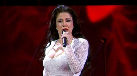 Carolina Soto impactó con su presentación como Isabel Pantoja