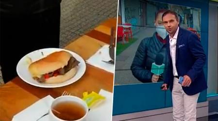 """Destacado restaurante presenta el sándwich """"te lo cedo"""" en honor Rodrigo Sepúlveda"""