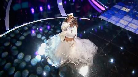 """Paloma Soto regresó al escenario en la voz de Madonna la """"Reina del Pop"""""""