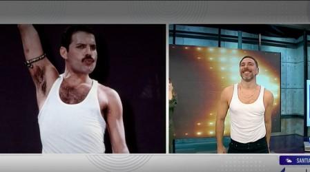 ¿Neme a The Covers?: El animador se atrevió a imitar al gran Freddie Mercury