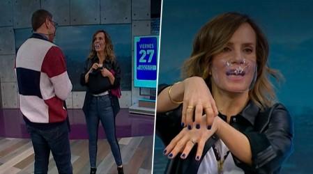 José Neme llegó tarde a Mucho Gusto y con un misterioso anillo: ¡Diana lo interrogó!
