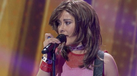¡Qué emoción!:Araceli Vitta interpretó a la recordada cantante Soraya