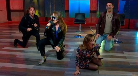 Todo gracias a la imitación de Amaya Forch: Diana Bolocco y José Antonio Neme bailaron al ritmo de Lady Gaga