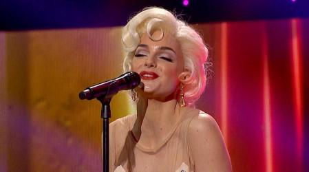 Sacó a relucir toda su sensualidad: Pin Montané se ganó los piropos del jurado con su tributo a Marilyn Monroe