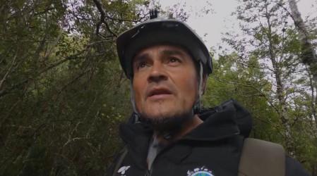 La aventura de Luis Andaur por el Parque Nacional Queulat y su ventisquero colgante
