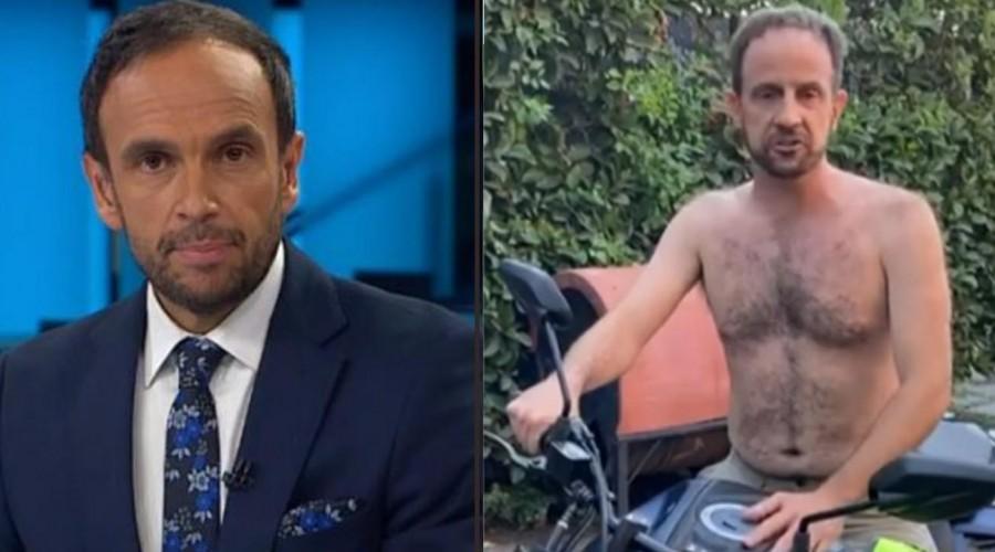 ¡Arriba de una moto!: Stefan Kramer vuelve a sorprender con genial imitación a Rodrigo Sepúlveda