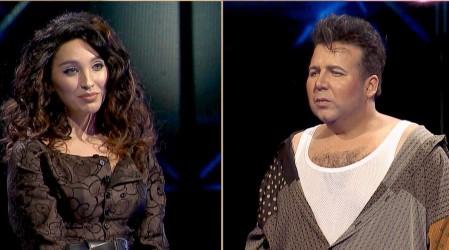 Duelo de artistas nacionales: Piamaría Silva como Myriam Herández se impuso ante el Luis Jara de Andrés Sáez