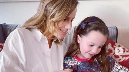 Diana Bolocco publicó una foto de su hija menor con un significativo y oculto mensaje