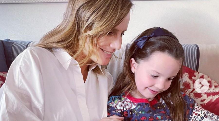 """""""Lento"""": Diana Bolocco publicó una foto de su hija menor con un significativo y oculto mensaje"""