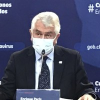 """""""Hemos detectado una leve alza en los casos"""": Ministro Paris sobre Covid"""